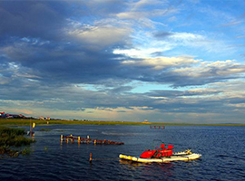 呼伦湖旅游