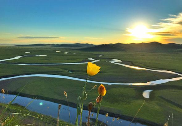 莫日格勒河,呼伦贝尔大草原