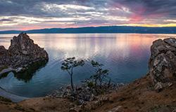 贝加尔湖日出