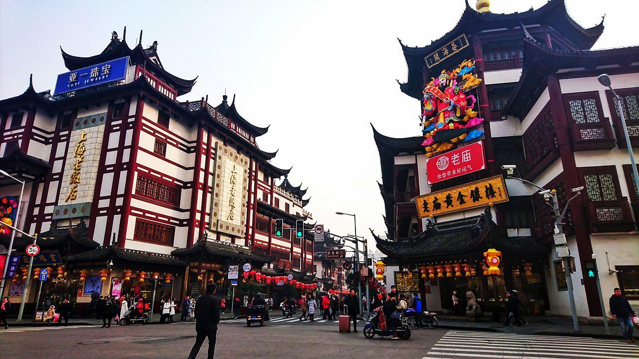 城隍庙商业街