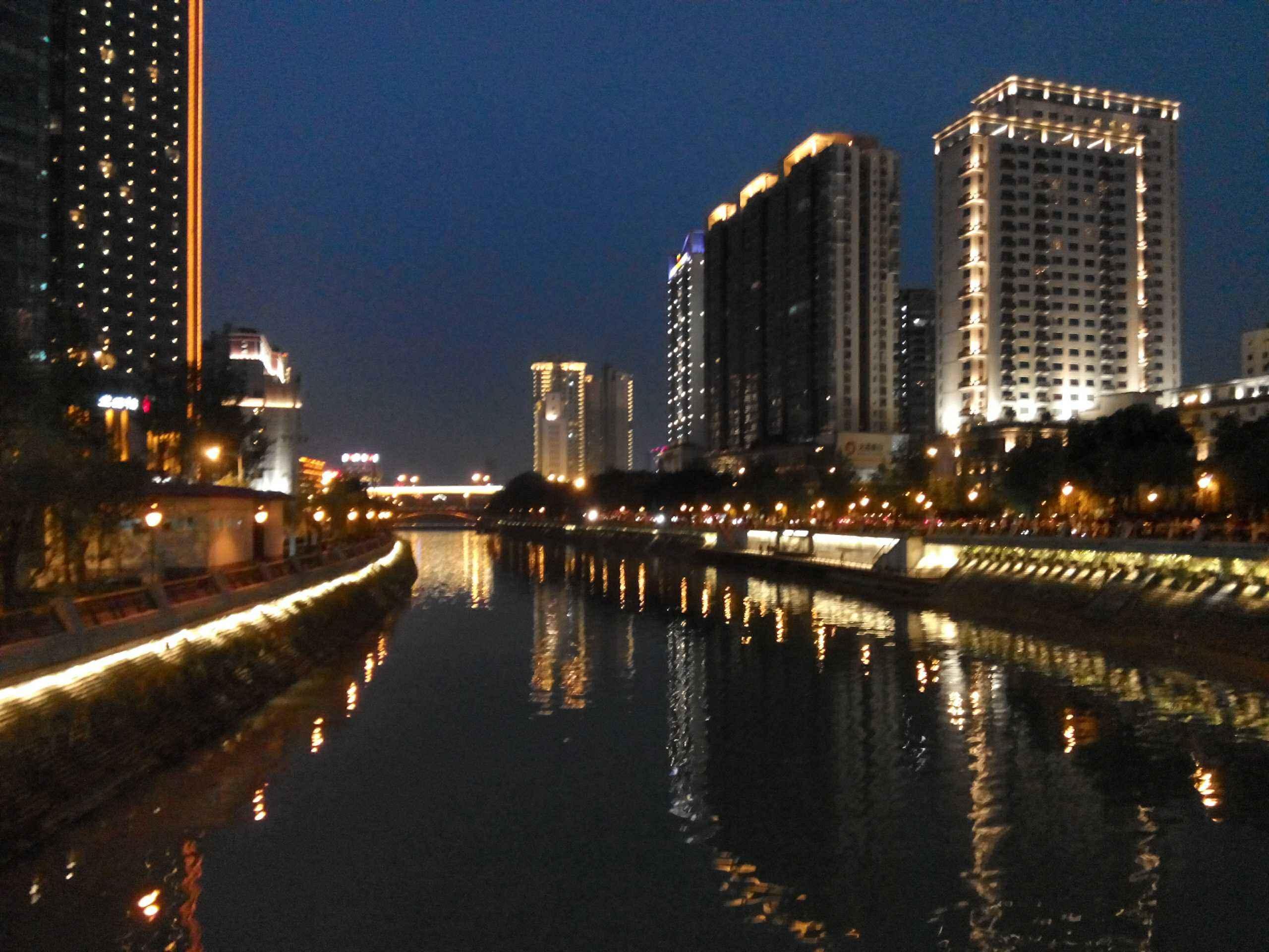 成都市夜景