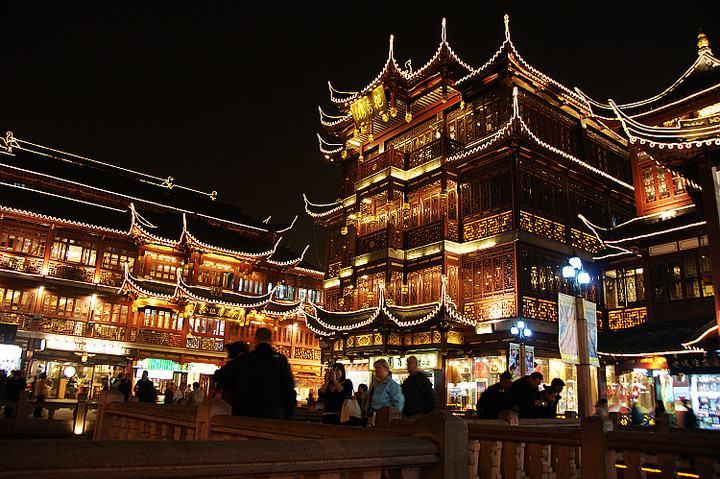 城隍庙夜景