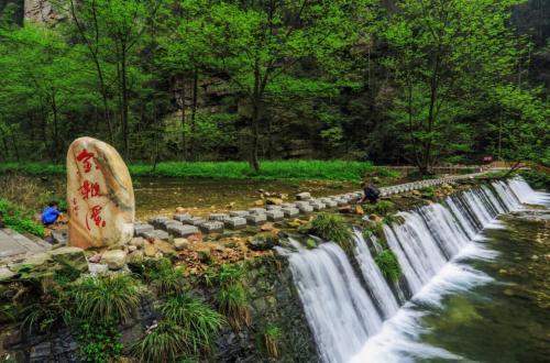 金鞭溪风景