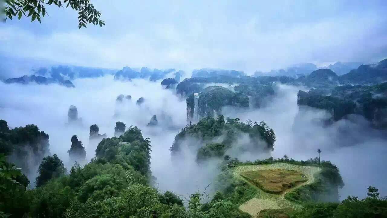 天门山国家森林公园