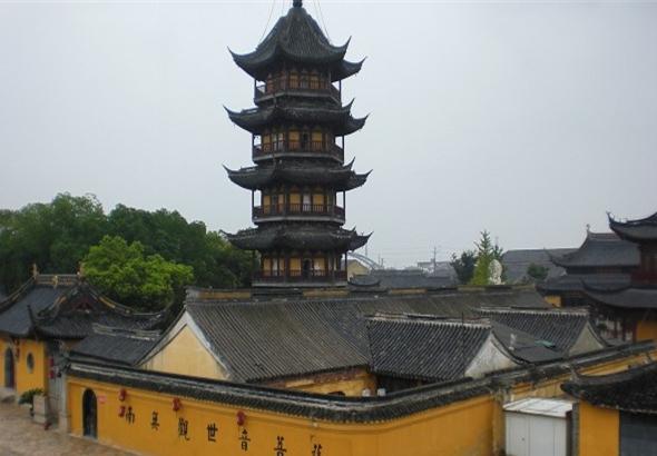 寒山寺风景